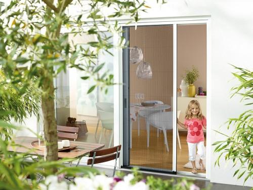 Insektenschutzplissee für Tür
